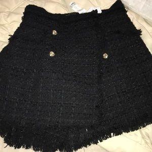 Zara tweed skort